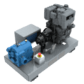 VL2 Powered Unit (Diesel drive)