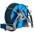 Suction hose reel